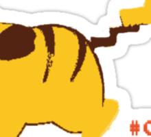 #025 Pikachu Sticker