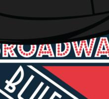 Broadway Blueshirts Sticker