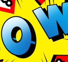 pow  Sticker