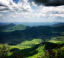 Blue Ridge Parkway by athee-fille