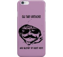 Mustaches Are Blowing Up Right Now iPhone Case/Skin