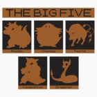 The Big Five (Tauros) by daveit