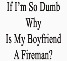 If I'm So Dumb Why Is My Boyfriend A Fireman? by supernova23