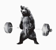 Grizzly Bear Deadlifting by Greg B