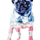 American Pug by Edward Fielding