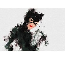 Catwoman Photographic Print
