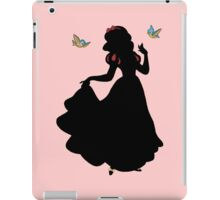 Dark Snow White iPad Case/Skin