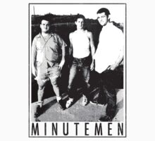 Minutemen - Light Shirts/Totes/Stickers/Pillows! by stella4star