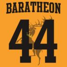 House Baratheon Jersey (44) by iamthevale