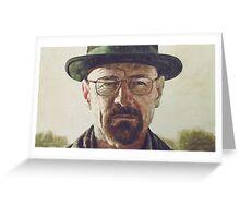 Heisenberg Painting Greeting Card