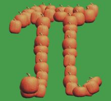 Pumpkin Pi T-Shirt by Daniel Wills