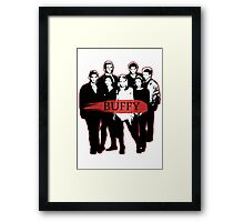 BTVS CAST (S3): The Scoobies! Framed Print