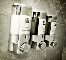 Hotel Shower by johnnycdesigns