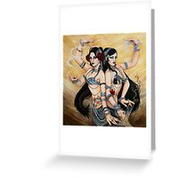 Dance Eternal Greeting Card