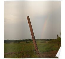 Country Rainbow. Poster