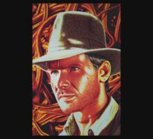 Indiana Jones Harrison Ford by JMCSharpieArt
