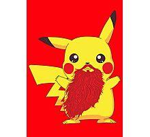 Beardemon - Pikachu Photographic Print