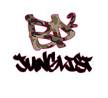 BP2 Junglist Camo Throw Pillow by eL7e