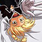 Edward Elric Flying Monkey by KrisKenshin