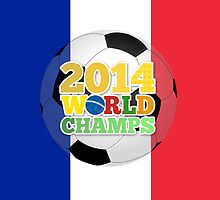 2014 World Champs Ball - France by crouchingpixel