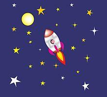 Rocket pig by mangulica