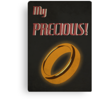 My Precious! Canvas Print