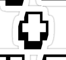 GL & HF Sticker