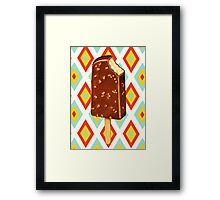 Toffee Crunch Ice Cream Framed Print