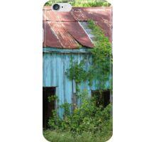 Old Blue Shack iPhone Case/Skin