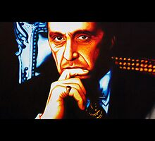 The Godfather - Al Pacino by JMCSharpieArt