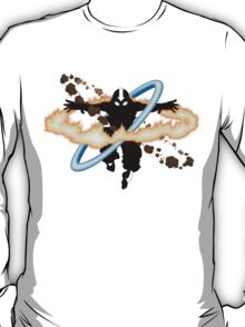 Aang going into uber Avatar state T-Shirt