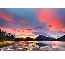 Vermilion Lakes Photographic Print