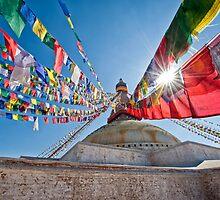 Boudhanath Stupa by 3523studio