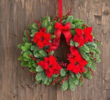 Advent wreath with winter rose  by 3523studio