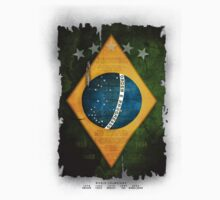 Brazil Flag World Cup 2014 by metaminas