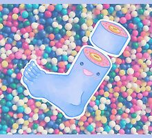 Kawaii Candy Foot by the-holy-foot