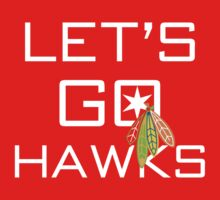 Let's Go Hawks by fohkat