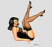 Pin-Up art 'High Stepper' by Fiona Stephenson by Fiona Stephenson