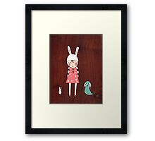Mila and Friend Framed Print