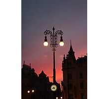 I love PRAGUE Photographic Print