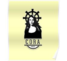 Can see your halo: Cora Poster