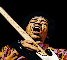 Jimmy Hendrix GLORY by Matterotica