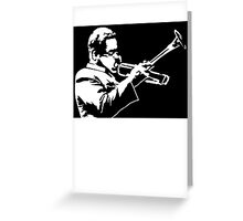 Dizzy Gillespie Greeting Card