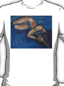 Nostalgic - Female Nude T-Shirt