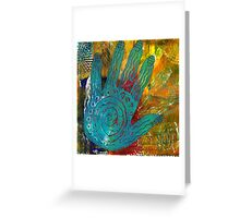 The Feel Good Hand Greeting Card