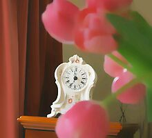 still  life ... with a clock  by OlaG