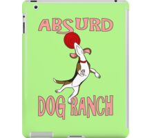 Absurd Dog Ranch Logo iPad Case/Skin