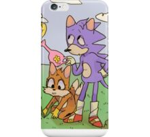 sonic+tails iPhone Case/Skin