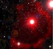 The Rose Petal Nebula  by zallus