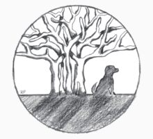 Bodhi Tree Dog by dharmadogstudio